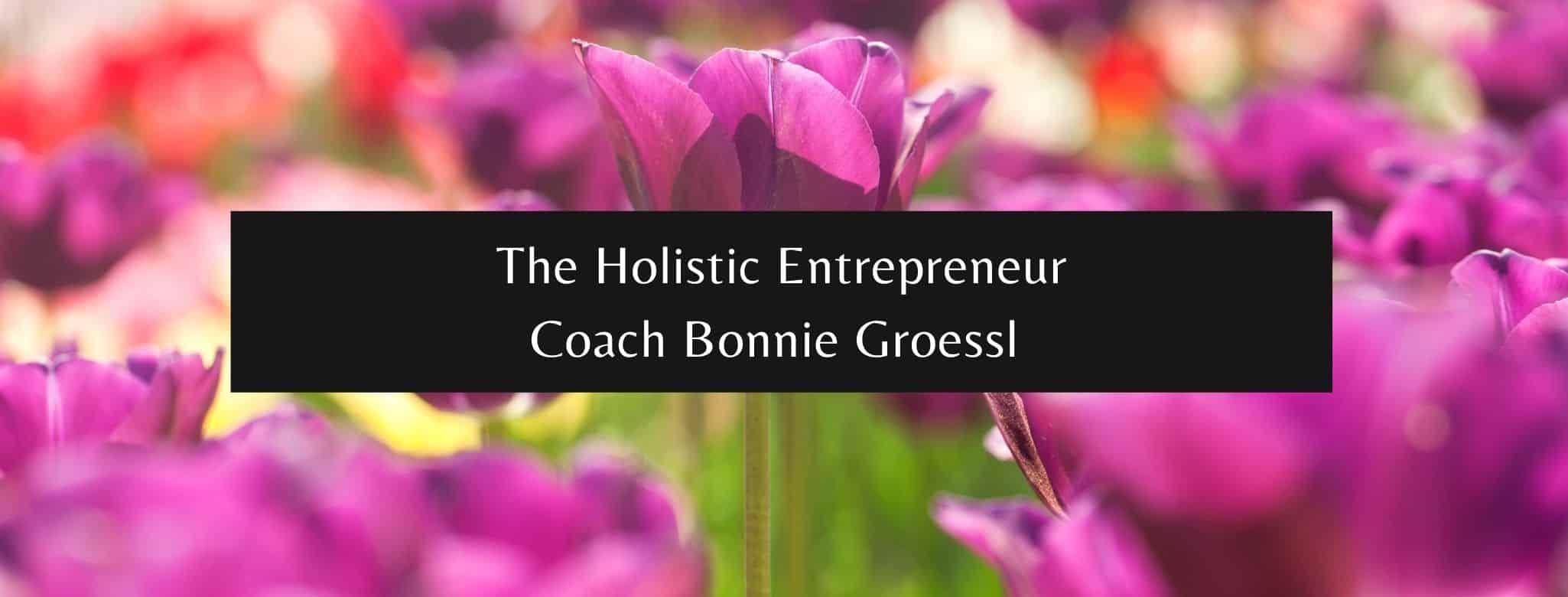 The Holistic Entrepreneur Bonnie Groessl