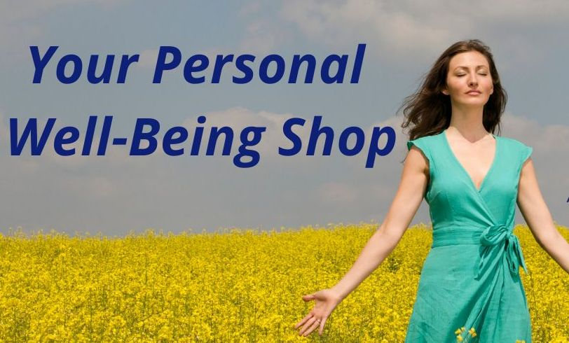 woman in field your personal well-being shop